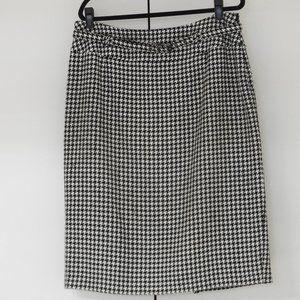 Nygard herringbone pencil skirt